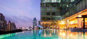 Sivatel Bangkok piscine débordement