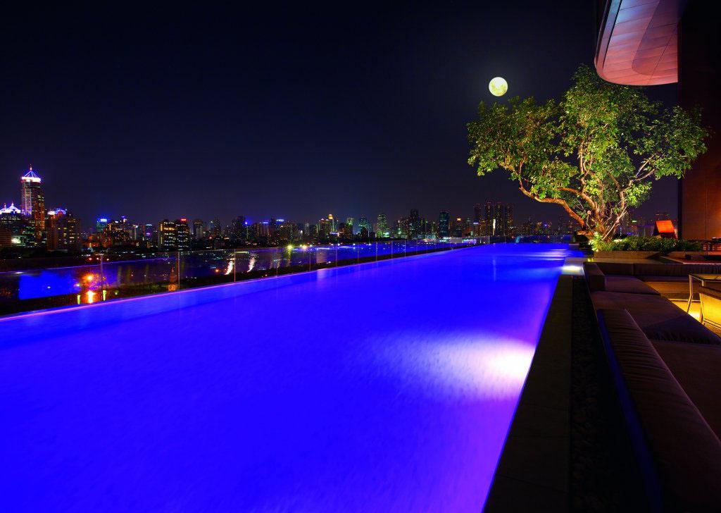 Les meilleurs h tels avec piscine d bordement de bangkok lifestyle oblikon - Hotel bangkok piscina ...