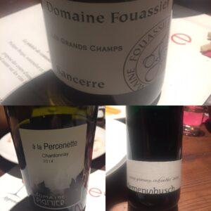 trois vins blancs