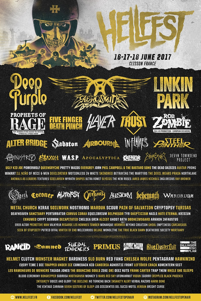 [Metal] Playlist - Page 11 Hellfest-2017-poster-full-line-up