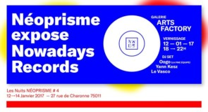 Néoprisme expose Nowadays Records : interview de l'un des organisateurs, Bastien Stisi