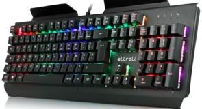Test du clavier mécanique aLLreLi K643 : multicolore et métallique