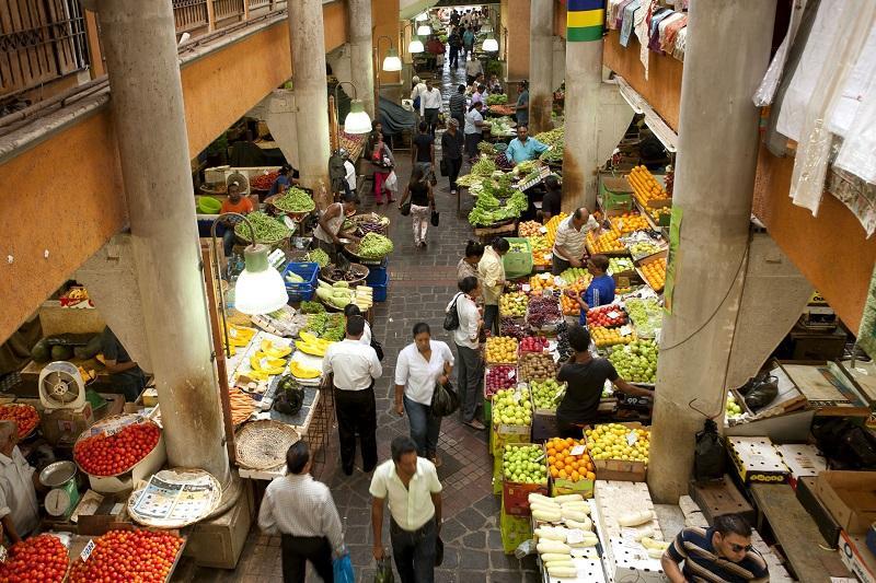 marché de Port Louis île Maurice