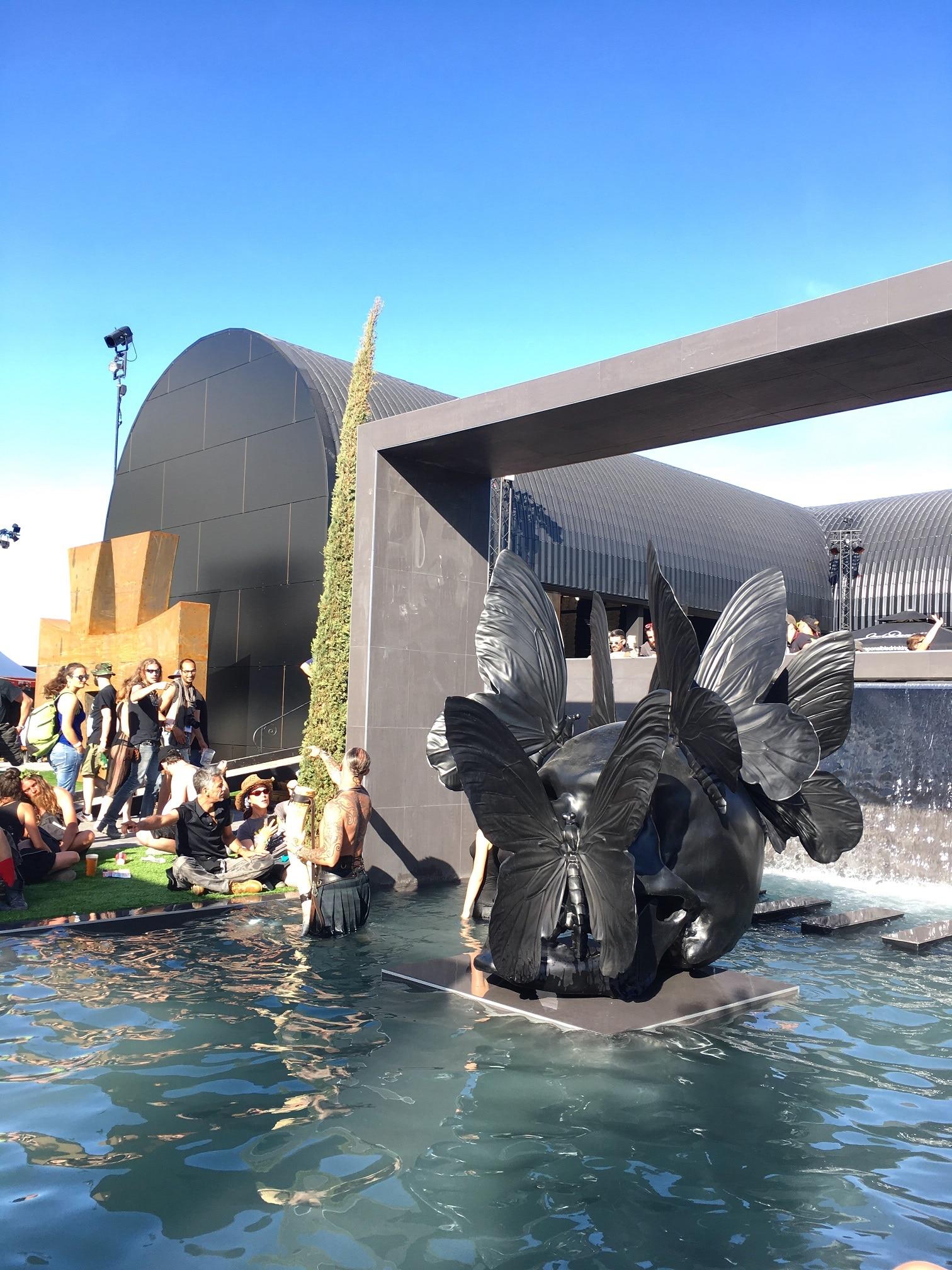 piscine vip presse hellfest 2017