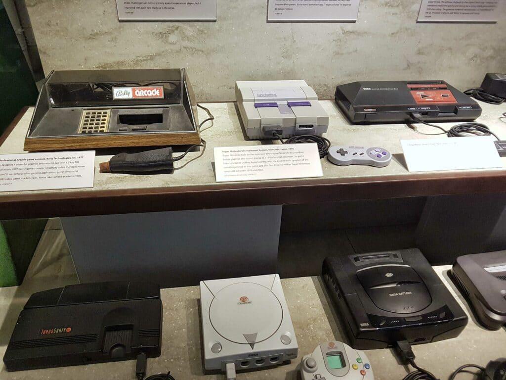 consoles de jeux video