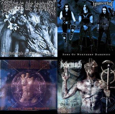 top4 black metal