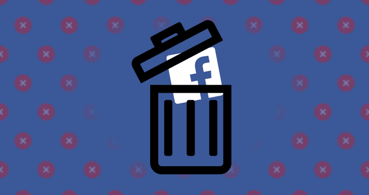 deletefacebook logo