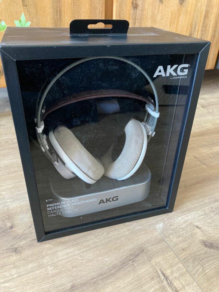 AKG K701 en boîte