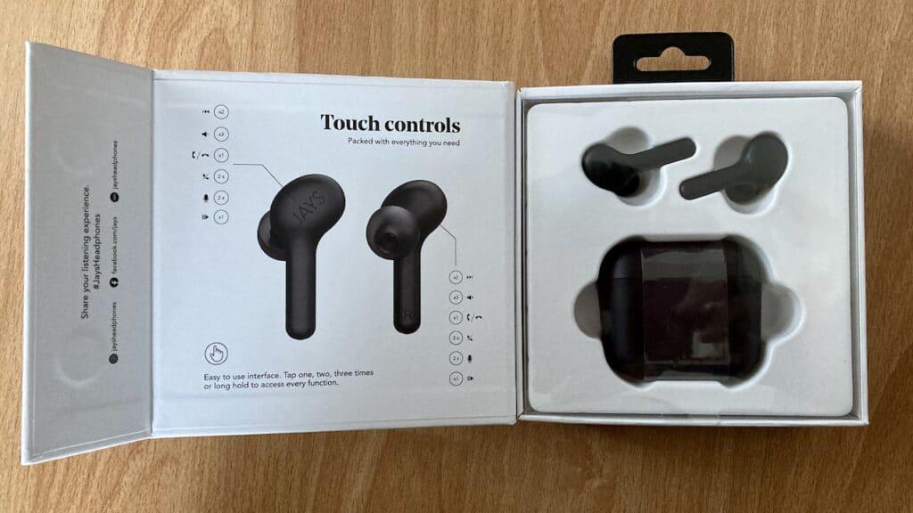 Jays f-Five True Wireless_unbox