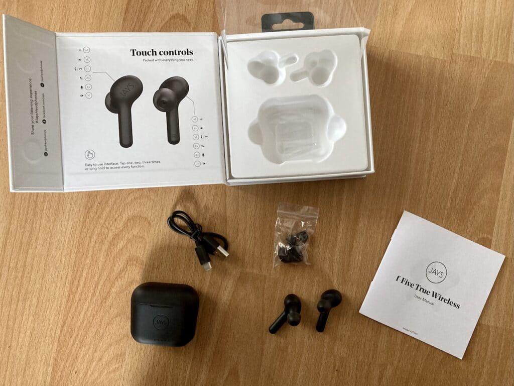Jays f-Five True Wireless_unbox2
