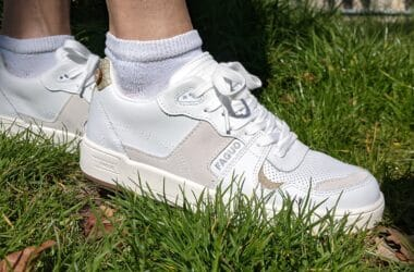 Faguo baskets blanches femmes casual